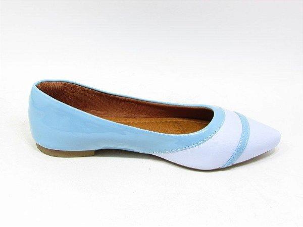 Sapatilha Vz Turquesa Cs Azul - Calçados Taty