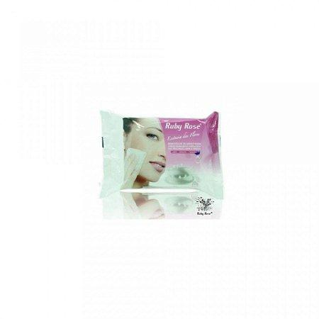 Lenço Removedor de Maquiagem Ruby Rose HB-200 Display c/12 unidades