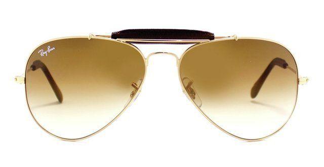 Óculos de Sol Ray-Ban Caçador RB3422 - Marrom Degradê
