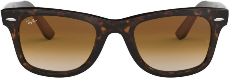 Óculos de Sol Ray-Ban Wayfarer Tartaruga Marrom RB2140 - Brilhante