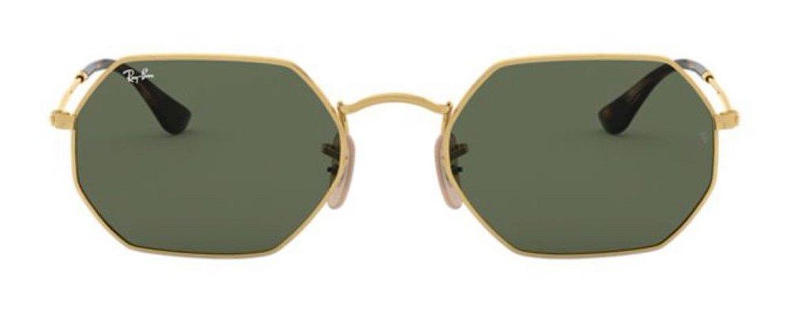 Óculos de Sol Ray-Ban RB3556N Octagonal Verde
