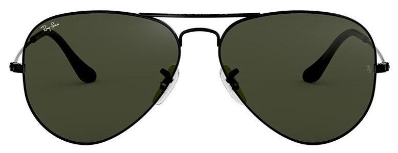 Óculos de Sol Ray-Ban Aviador RB3025 - Verde / Preto