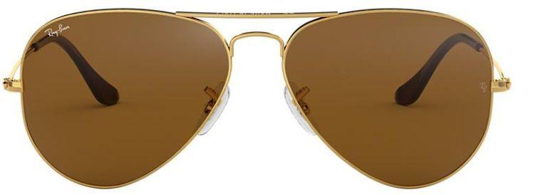 Óculos de Sol Ray-Ban Aviador RB3025 - Marrom