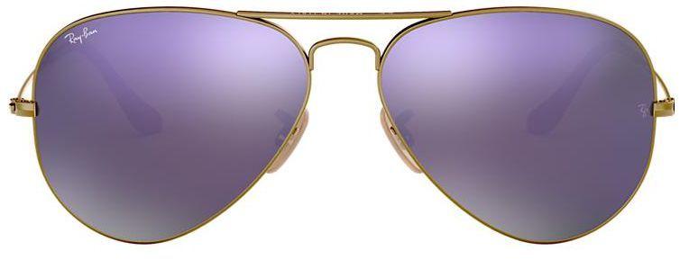 Óculos de Sol Ray-Ban Aviador RB3025 - Roxo Espelhado