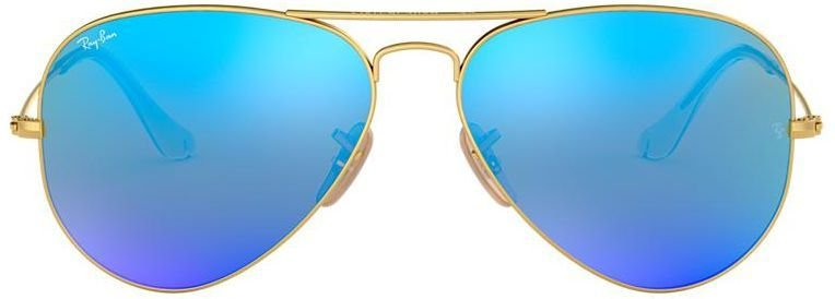 Óculos de Sol Ray-Ban Aviador RB3025 - Azul Espelhado