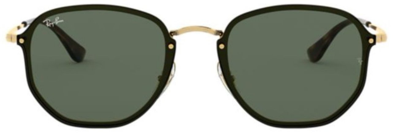 RAY-BAN BLAZE HEXAGONAL PRETO - RB3579