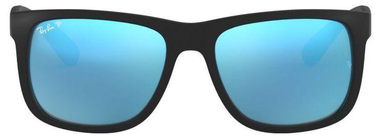 Óculos de Sol Ray-Ban RB4165L Justin Azul Polarizado