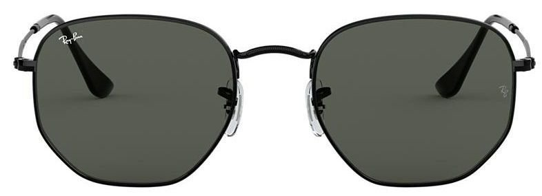 Óculos de Sol Ray-Ban RB3548 Hexagonal Preto
