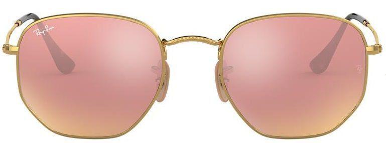 Óculos de Sol Ray-Ban RB3548 Hexagonal Rosa