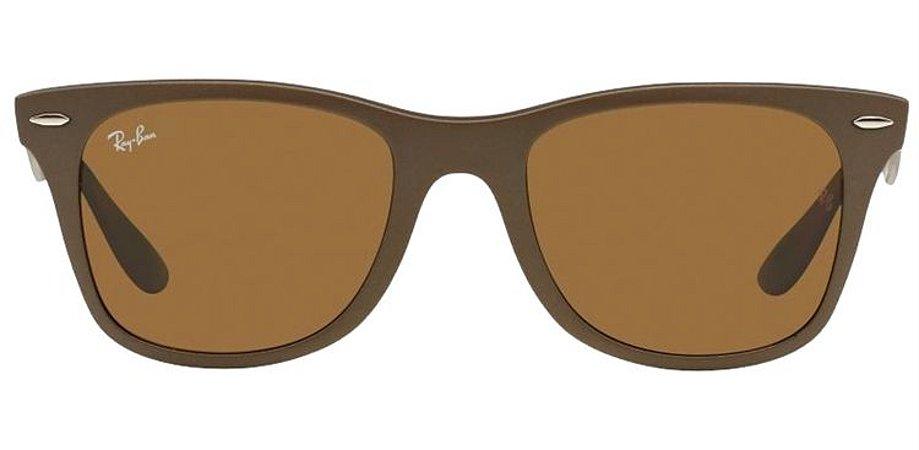 Óculos de Sol Ray-Ban Wayfarer Marrom RB2140 - Fosco