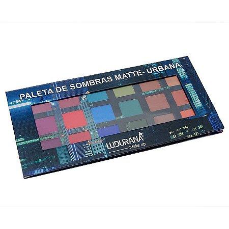 Paleta de Sombras Matte - Urbana Ludurana 18 cores