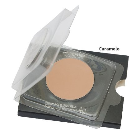 Camuflagem Creme Makie 4g - cores claras e médias