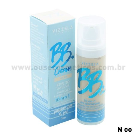 BB Cream FPS 30 - Vizzela Cores Claras e Medianas