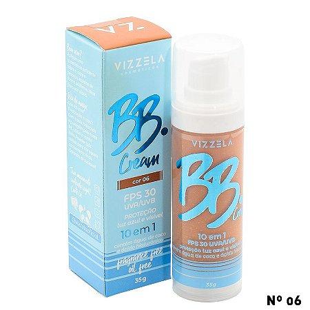 BB Cream FPS 30 - Vizzela Cores Medianas e Escuras