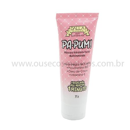 Máscara Hidratante Multivitaminada PA-PUM! Dalla Makeup