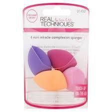 Mini Esponjas para Maquiagem Real Techniques