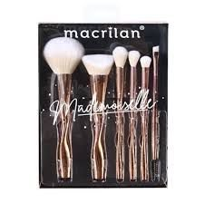 Kit de Pincéis Ed004 com 6 unid Mademoiselle Macrilan