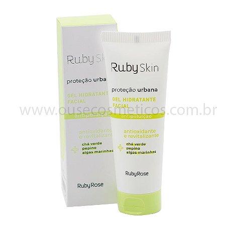 Gel Hidratante Facial Proteção Urbana Ruby Skin 50g - Ruby Rose