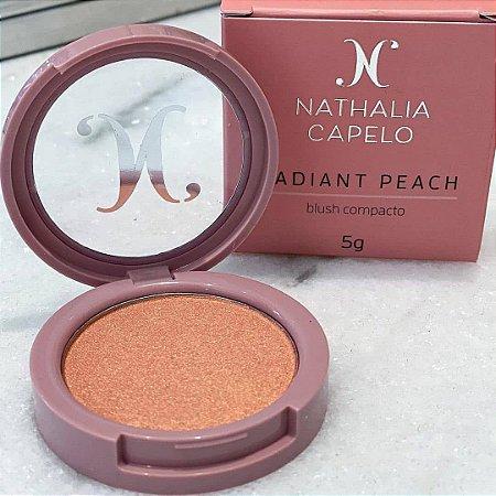 Blush Compacto Radiant Peach Nathalia Capelo