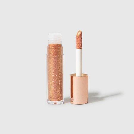 Brilho Labial Sunset Rosa Dourado - Lip Gloss Mariana Saad By Oceane