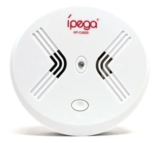 kit 11 Detector Incêndio Fumaça Sensor Sem Fio Ca-505 Ípega Alar