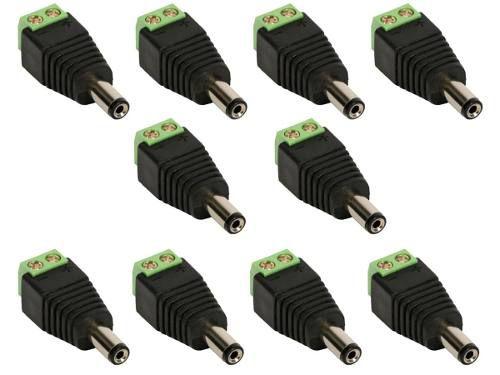 Conector de energia P4 Macho Borne Pacote 10 unidades