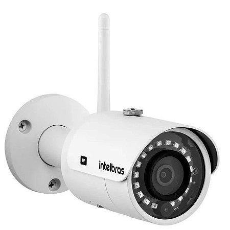 Câmera IP WI-FI Corporativo Bullet Full HD, H.265, Entrada para Cartão sd - VIP 3230 W