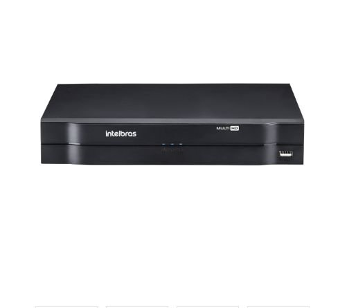MHDX 1104 C/ HD 12TB - GRAV. DIG. DE VÍDEO 4 CANAIS 1080p LITE - INTELBRAS MULTI-HD® SÉRIE 1000 - H.265, H.265+, Nova interface gráfica, HDCVI + HDTVI + AHD + IP + ANALÓGICO com HD de 12TB instalado