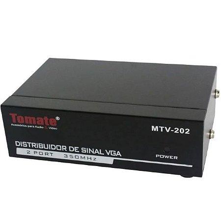 Distribuidor De Sinal VGA 1X2 - MTV 202