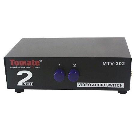 Chaveador Switch AV 1X2 - MTV 302