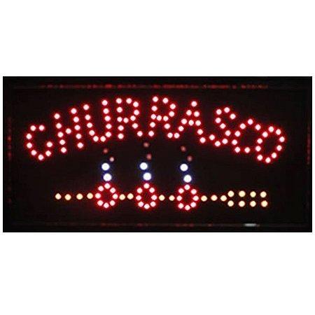 Letreiro Luminoso de LED Churrasco - LK G2548