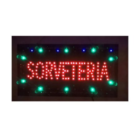 Letreiro Luminoso de LED Sorveteria LK G2548