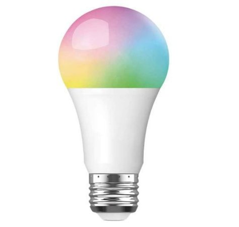 Lâmpada inteligente, lâmpadas Wifi em mudança de cor funcionam com Alexa Google Home, 10W