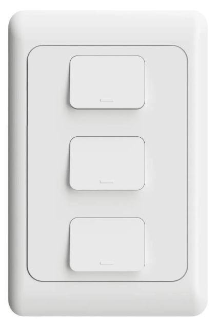 Interruptor Inteligente Wifi Agl 03 Teclas