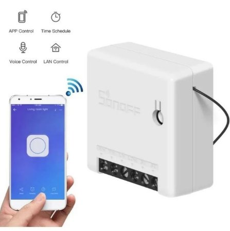 Sonoff Mini Interruptor Wifi-comando Voz Alexa E Google Home