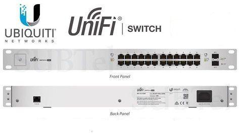 UBIQUITI US-24-250W UNIFI SWITCH 24-PORT POE + 2P SFP