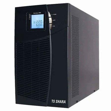 Nobreak TS Shara UPS Senno ST 3KVA, 220V, 6x Baterias Internas de 9AH