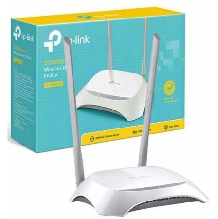 Roteador TP-Link TL-WR840N Wireless TL-wr 2 Antenas 300mbps