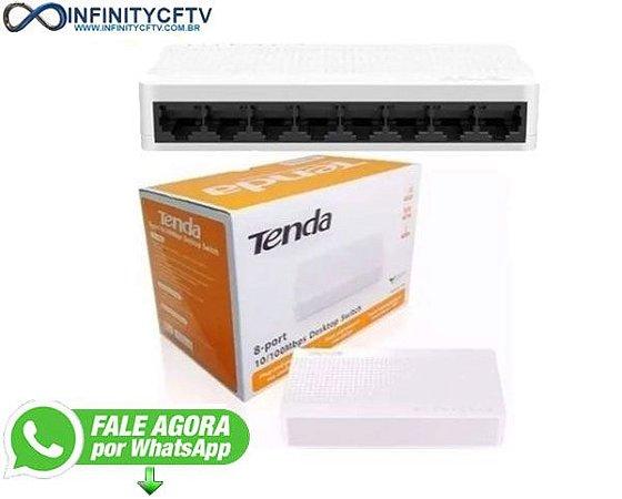 Switch 8 Portas 10/100mbps Desktop Tenda S108