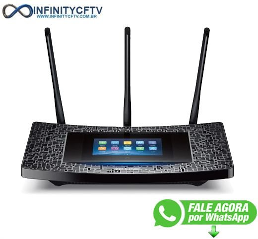 Tp-link Roteador Touch P5 Dual Gigabit Touch Screen Ac1900 - Infinitycftv