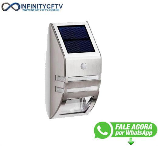 Promoção Luminaria Solar / Sensor De Movimento - Infinitycftv Santa Efigênia