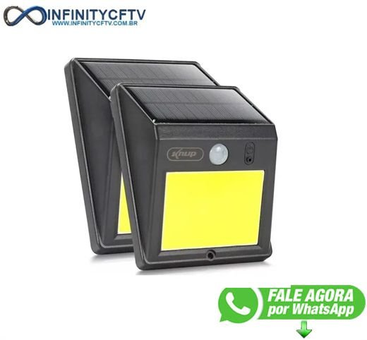 Luminaria Solar 60 Leds Sensor De Presença - Infinitycftv