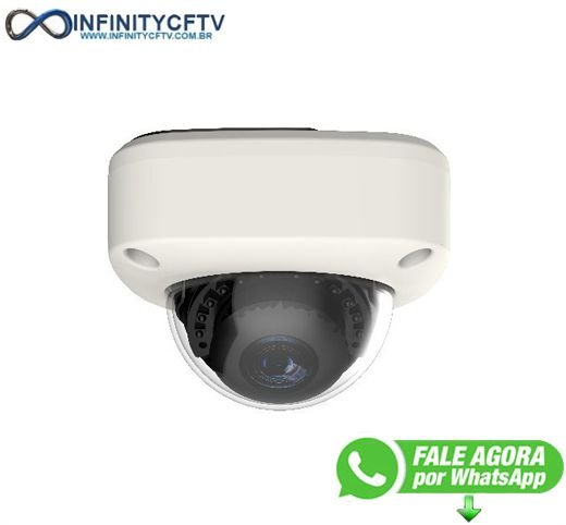 Câmera Dome Antivandalismo Versatile-hd Lcp-8620a Multihd - Infinitycftv Santa efigênia