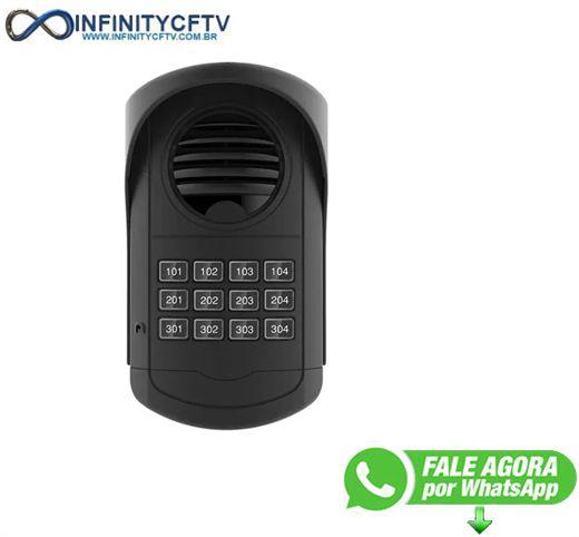 Porteiro Coletivo Agl Com Fonte - S300 4 Pontos-Infinity Cftv
