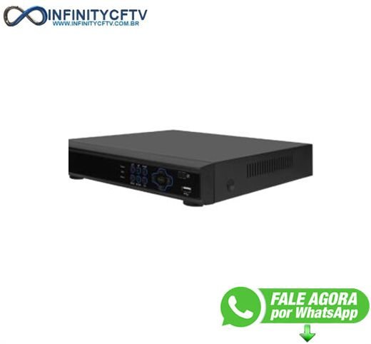 DVR Versatile LuaTek- HD 5 em 1 32 canais -  LKD-332BP- Infinitycftv