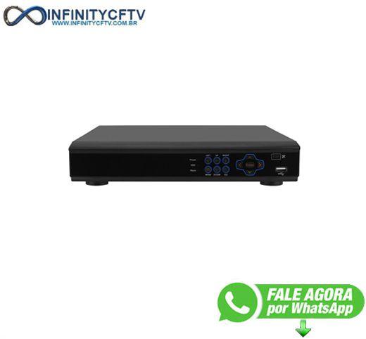 DVR versatile LuaTek HD 5 em 1 8 canais - LKD-308BP - Infinitycftv Santa Efigenia