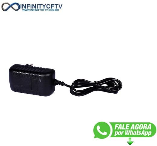 Fonte Cftv Estabilizada 12v 2a Importada Câmera Segurança-Infinity Cftv
