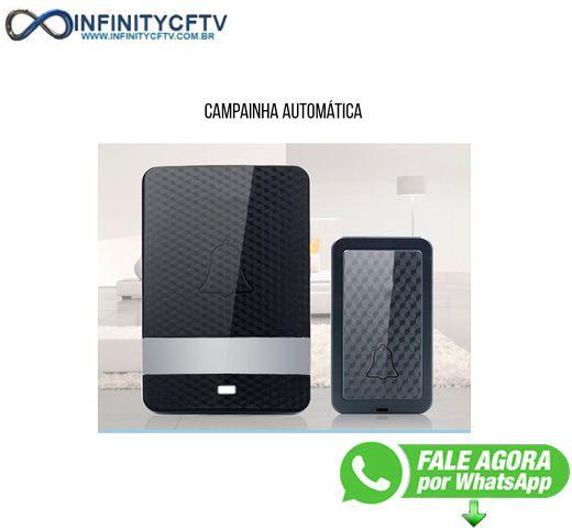 Campainha Sem Fio Sem pilha LKM-3015 - Infinity Cftv