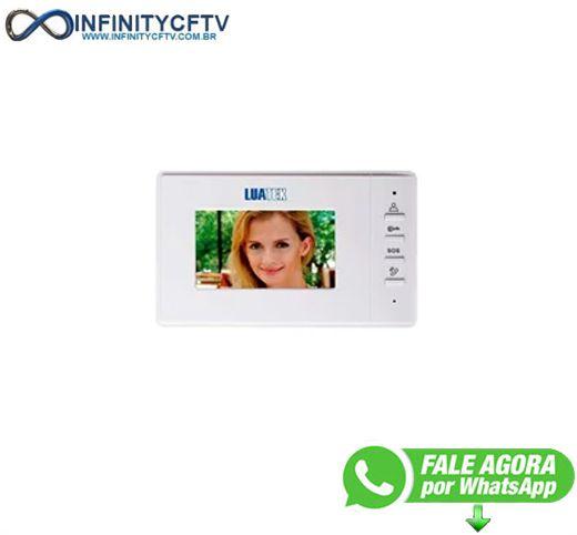 Vídeo Porteiro Eletrônico Tela 4.3'' Colorida e Visão Noturna LKM-1203-Infinity Crtv
