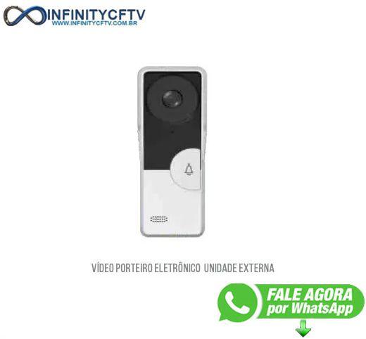 Unidade Externa Vídeo Porteiro Eletrônico Lkm0003- Infinity Crtv